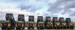 ОТП Лізинг придбав для клієнта 8 нових самосвалів Scania