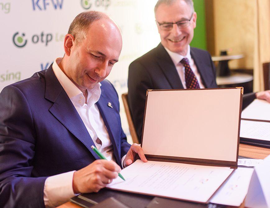 За дорученням німецького уряду KfW надає ОТП Лізинг субординований кредит у розмірі 17 млн. Доларів для аграрної програми.
